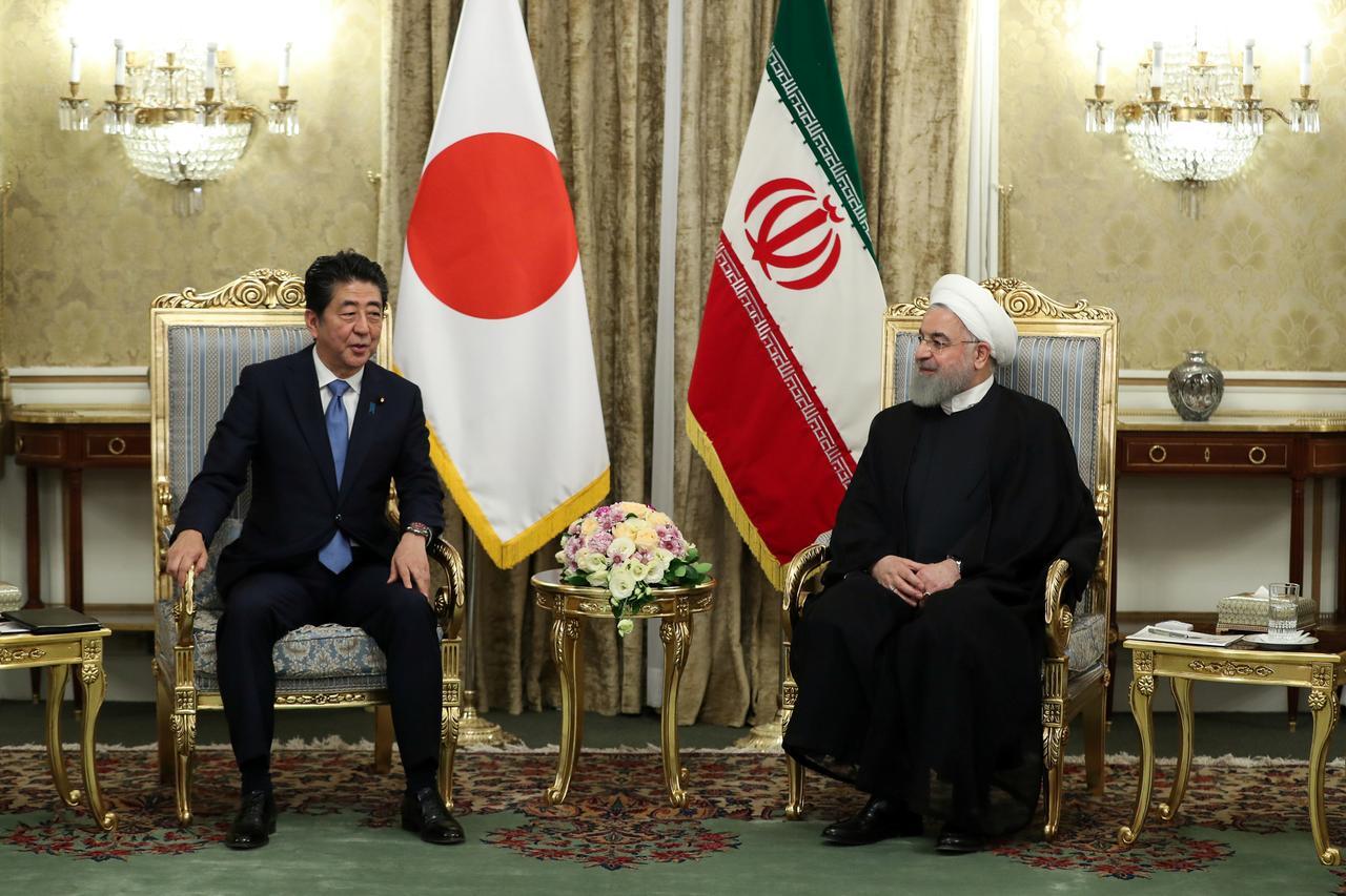 「安倍首相 テヘラン」の画像検索結果
