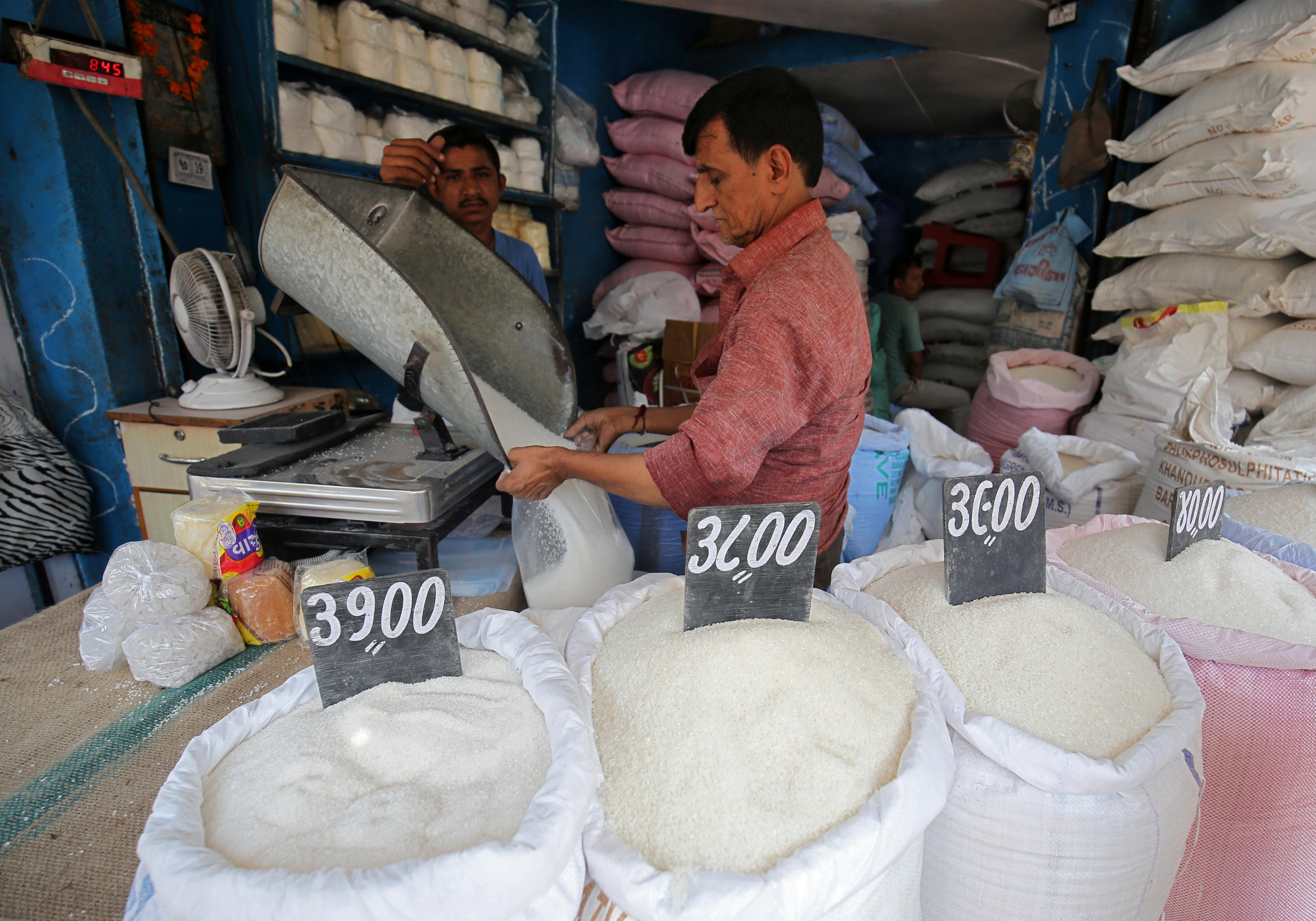 India's sugar output could drop 15% as drought hits - industry sources