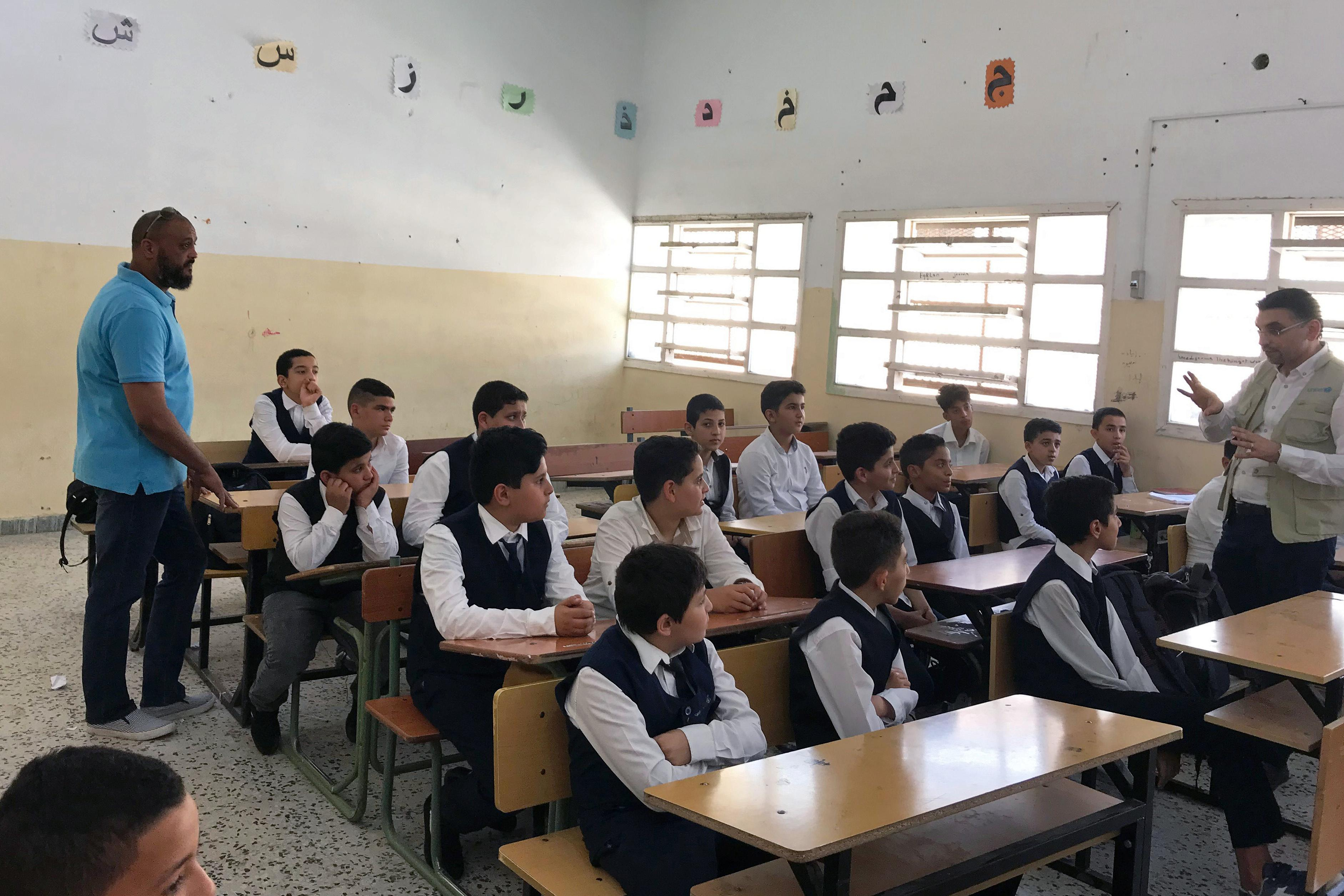 Tripoli's children struggle to study as war reaches the capital