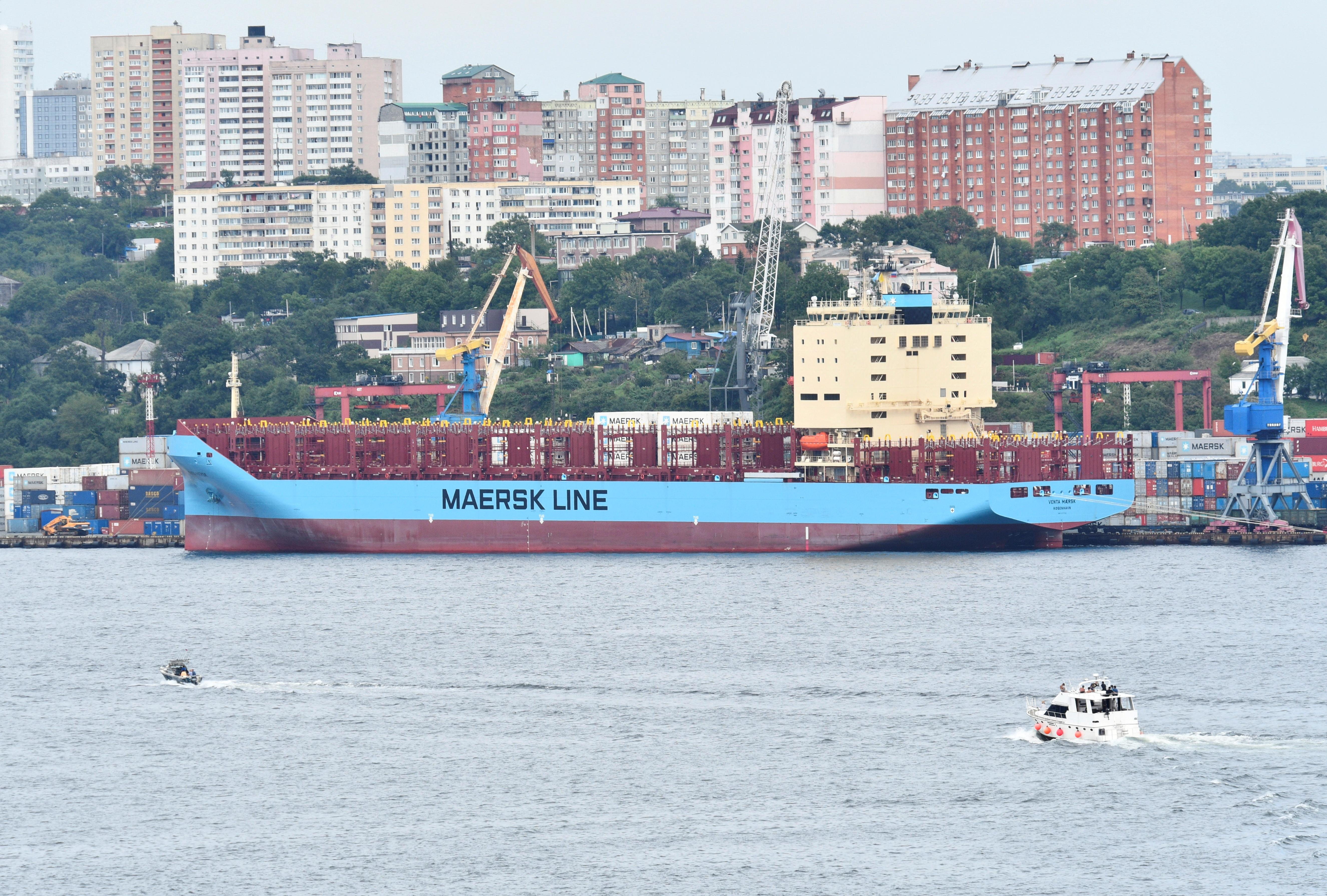 Maersk explores Arctic shipping route with Russia - Reuters