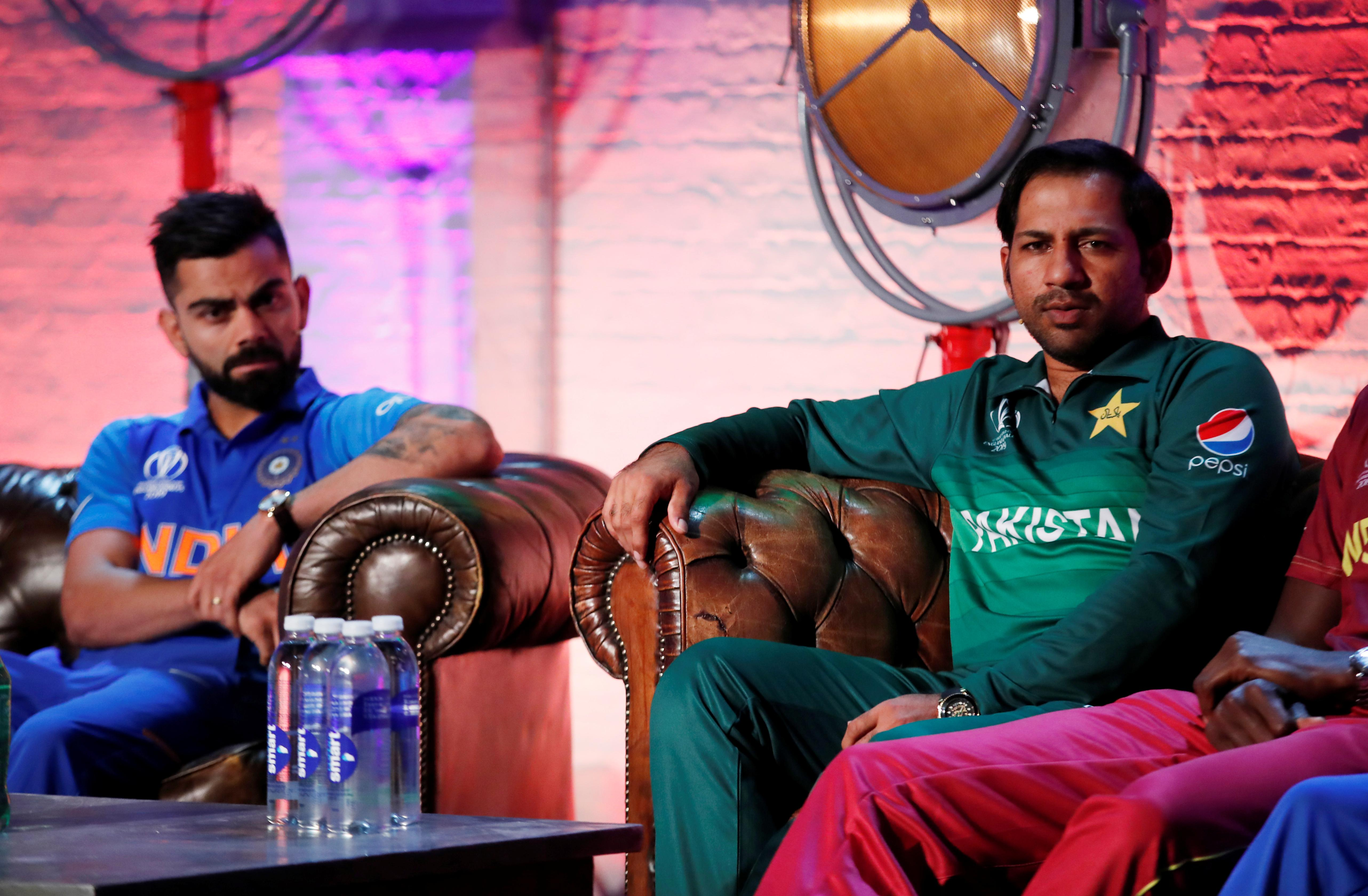 Cricket: Rivals India and Pakistan meet in Manchester