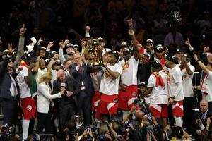 Toronto Raptors win first NBA title