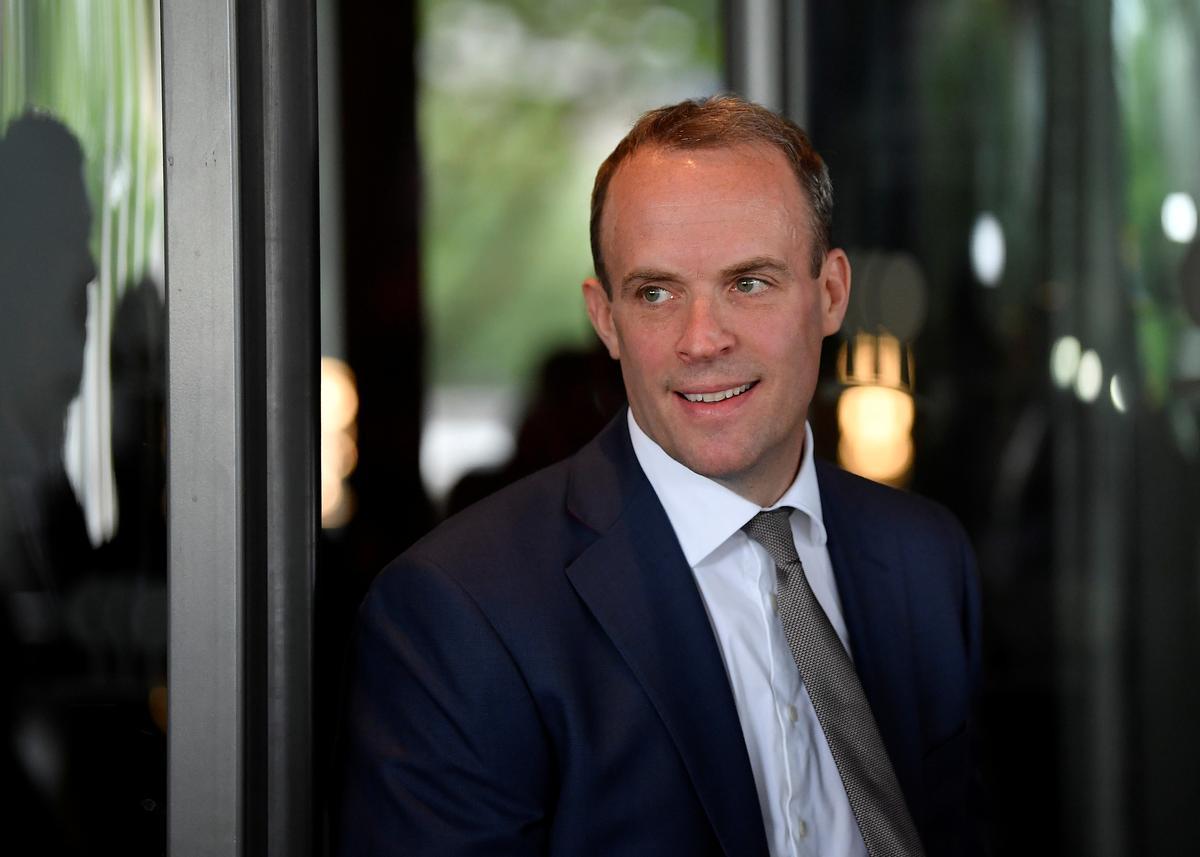 UK PM hopeful Raab 'quietly confident' of making next round of leadership contest