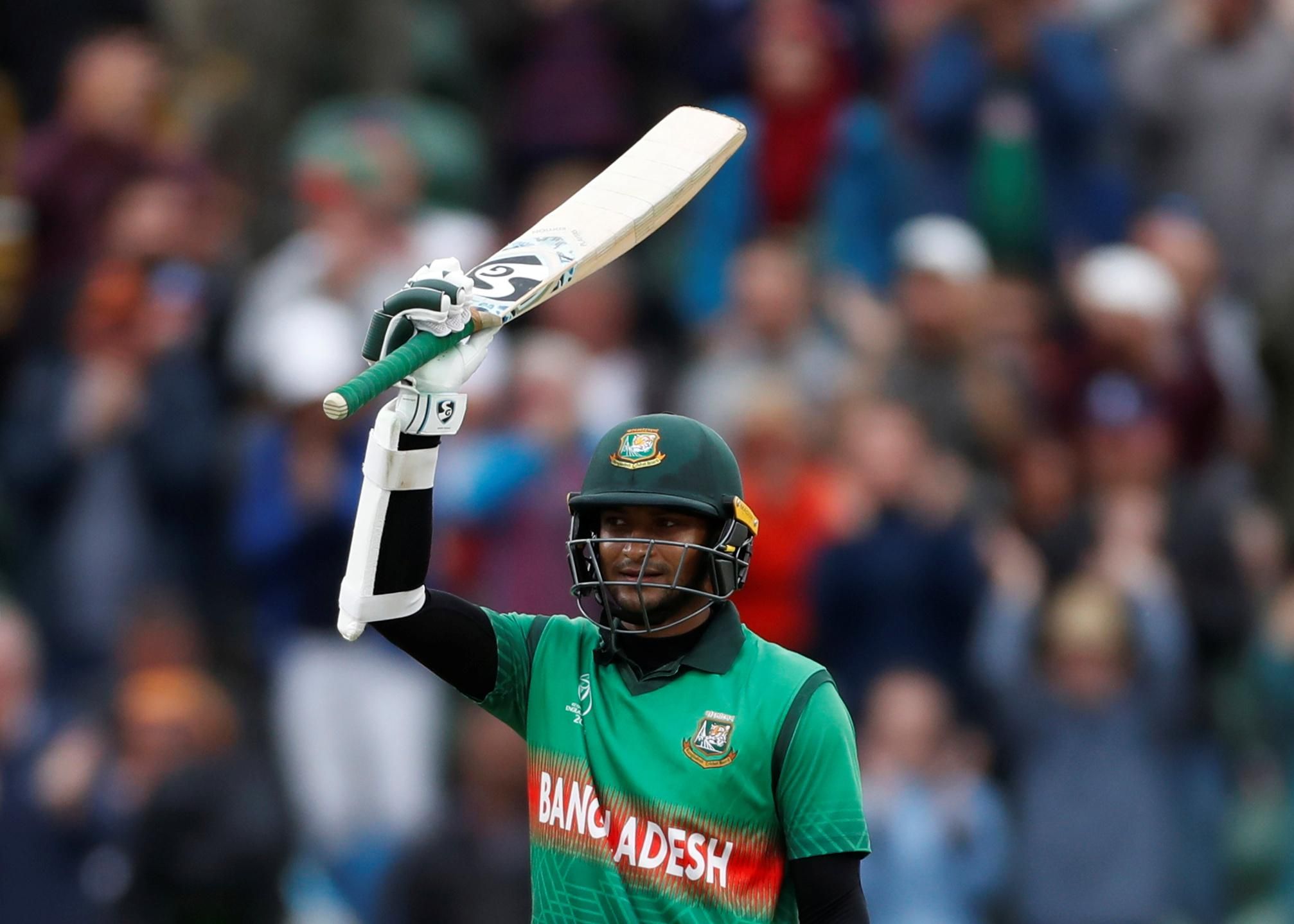 Bangladesh captain praises exceptional Shakib after Windies heroics