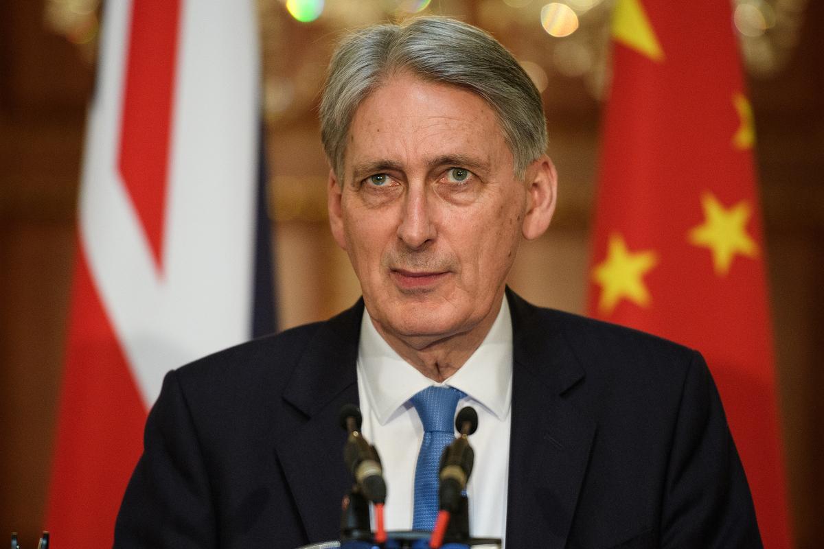 UK's Hammond 'prepared to resign' over May's legacy spending plans: ITV