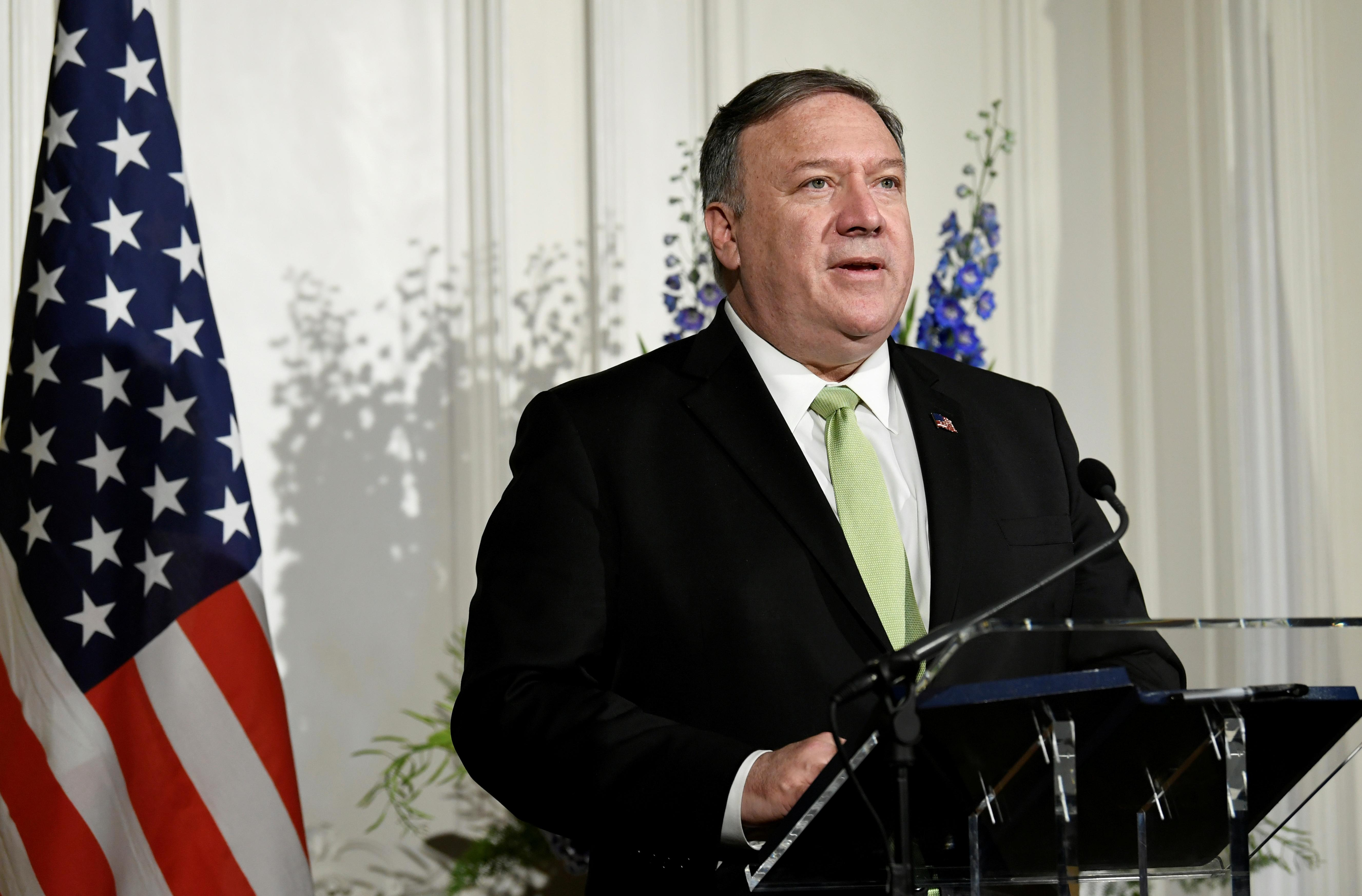 Exclusive: Overruling his experts, Pompeo keeps Saudis off U.S....