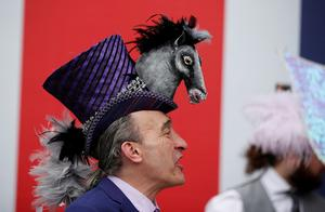 Hats and horses at the Royal Ascot