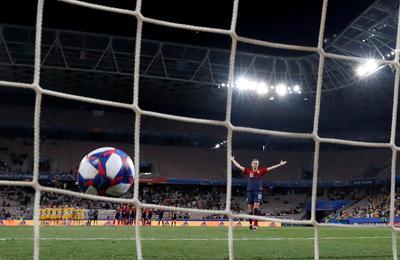Women's World Cup: Norway 1 (4) - Australia 1 (1)