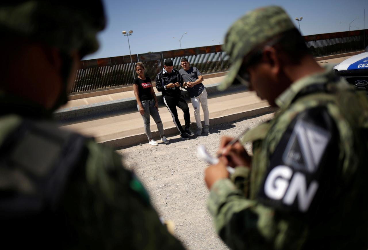Mexico says it has deployed 15,000 forces in the north to