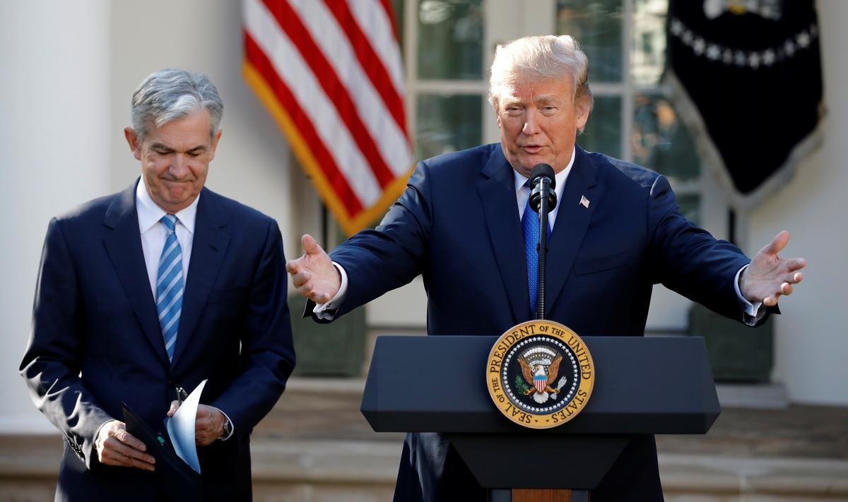 Trump says he can fire Fed's Powell; it's not that simple
