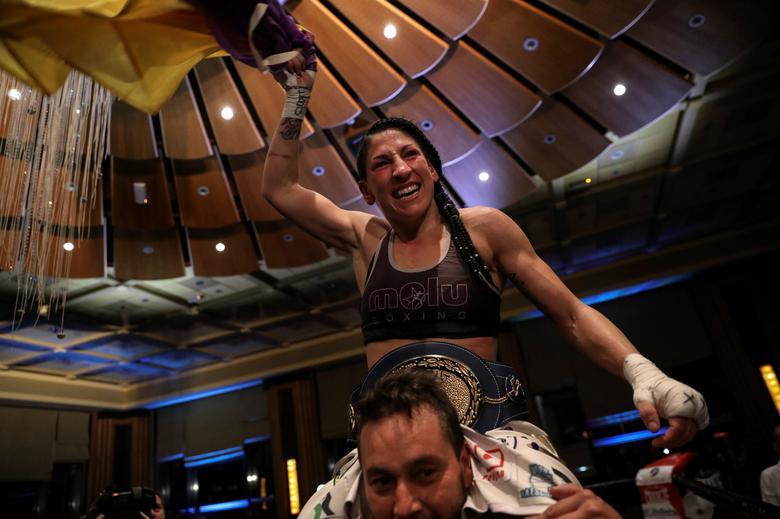Spanish boxer-politician fights gender violence   Reuters com