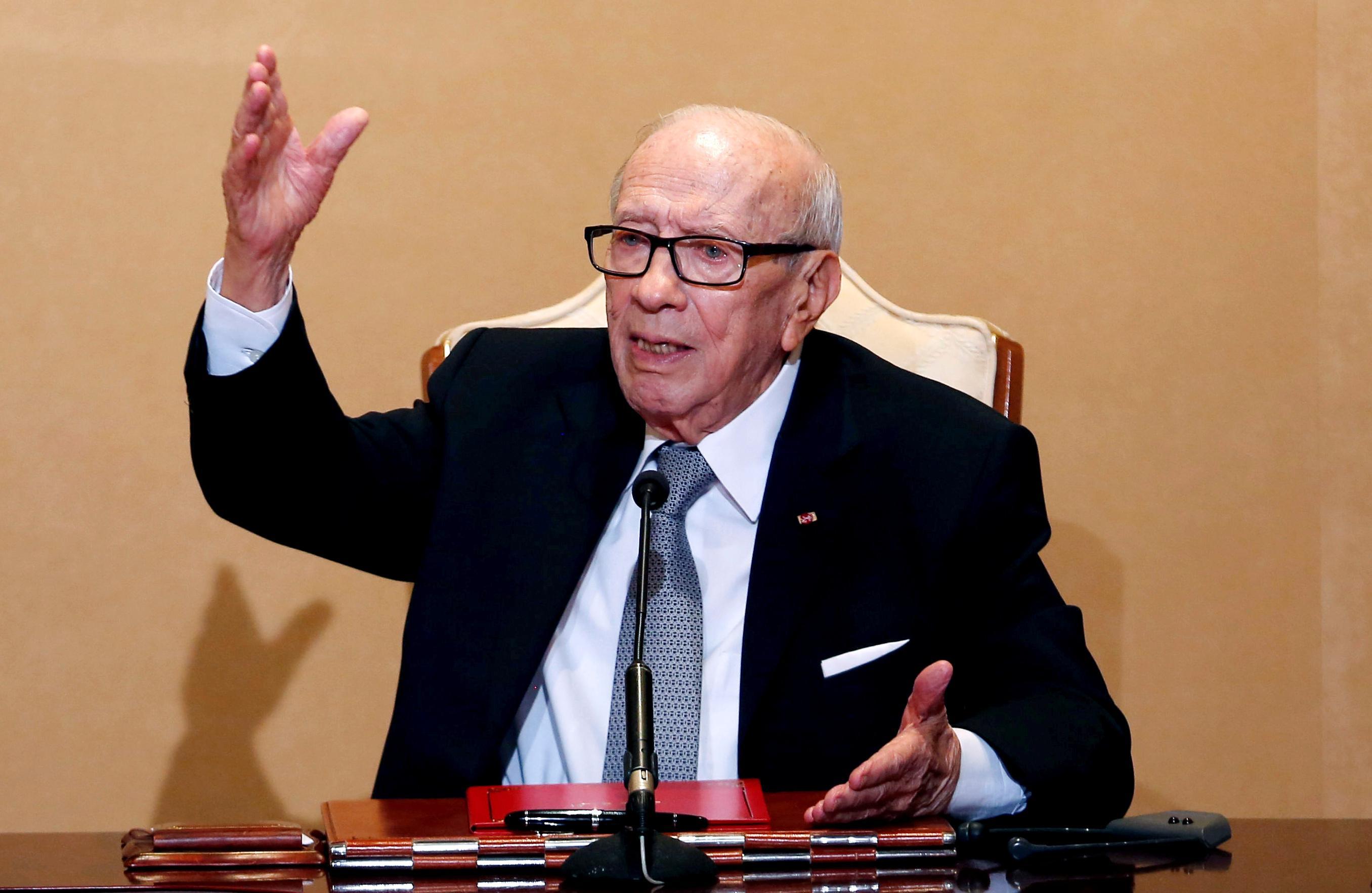 Tunisian president hospitalized 'in severe health crisis': presidency