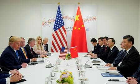 Trump says China trade talks 'back on track,' new tariffs on hold