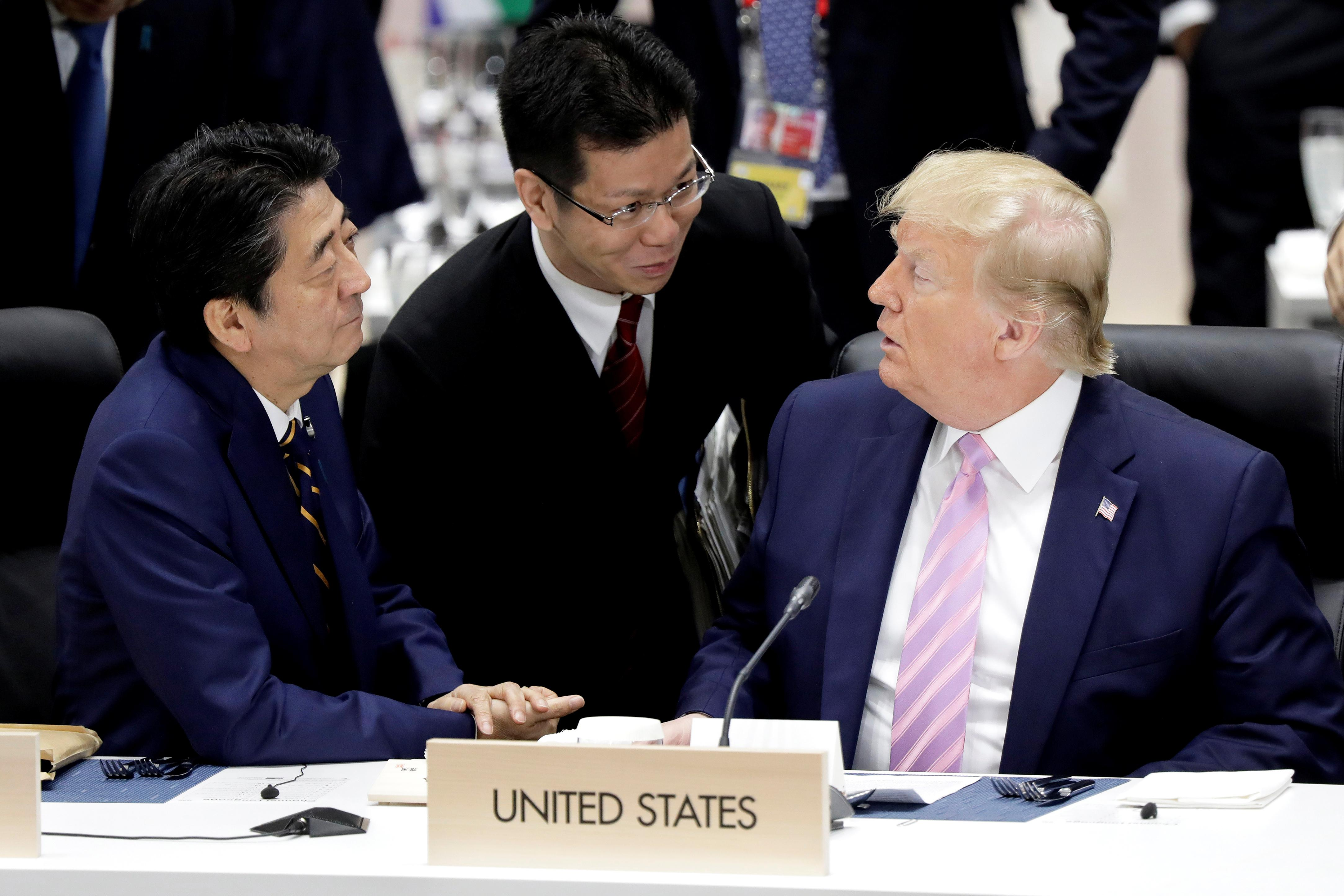 Trump says 'unfair' defence treaty with Japan needs to be changed