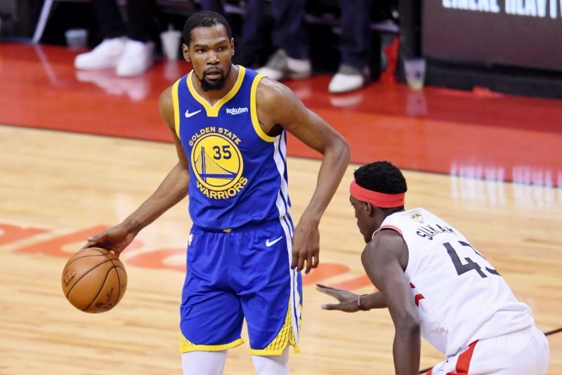 NBA-Durant joins Nets, ending three seasons with Warriors