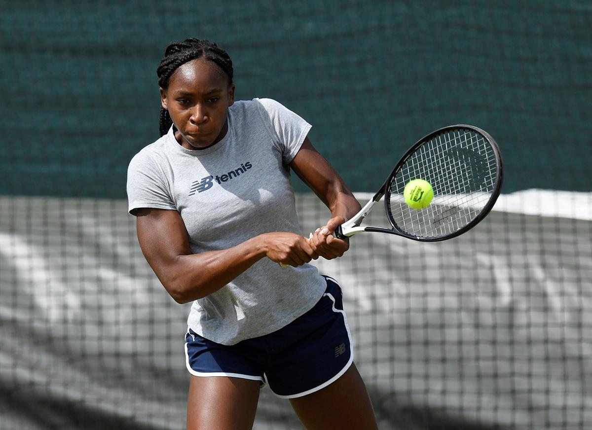 テニス=元女王に挑む15歳ガウフ、「わくわくしている」