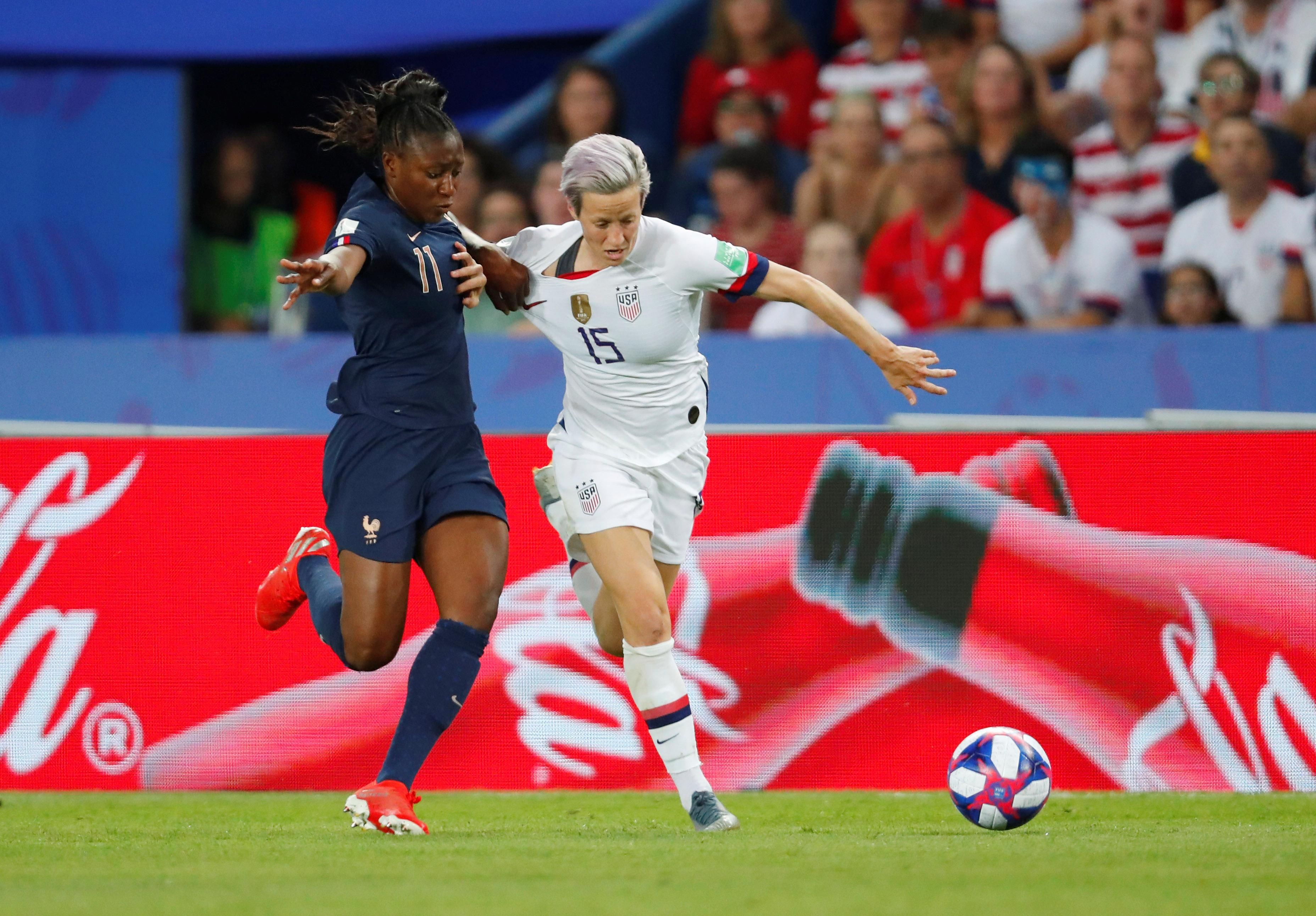 U.S. women's soccer jersey sets sales record amid World Cup fervor