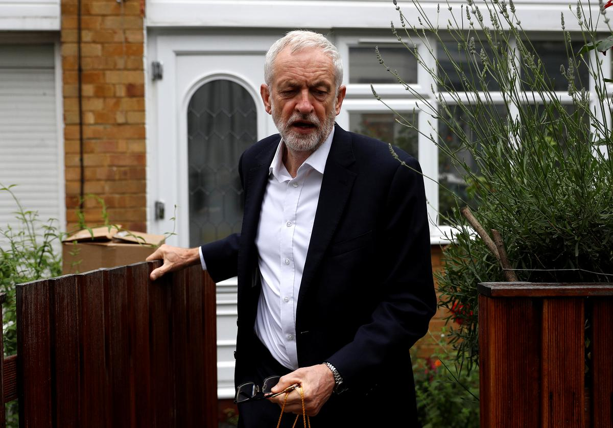 Labour's Corbyn, 70, calls for independent probe into report he is 'too frail' to be UK PM