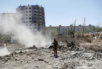 Deadly Taliban attack in Kabul