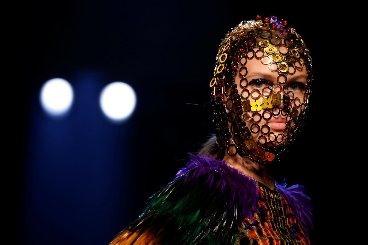 Gaultier walks on the wild side at Haute Couture show