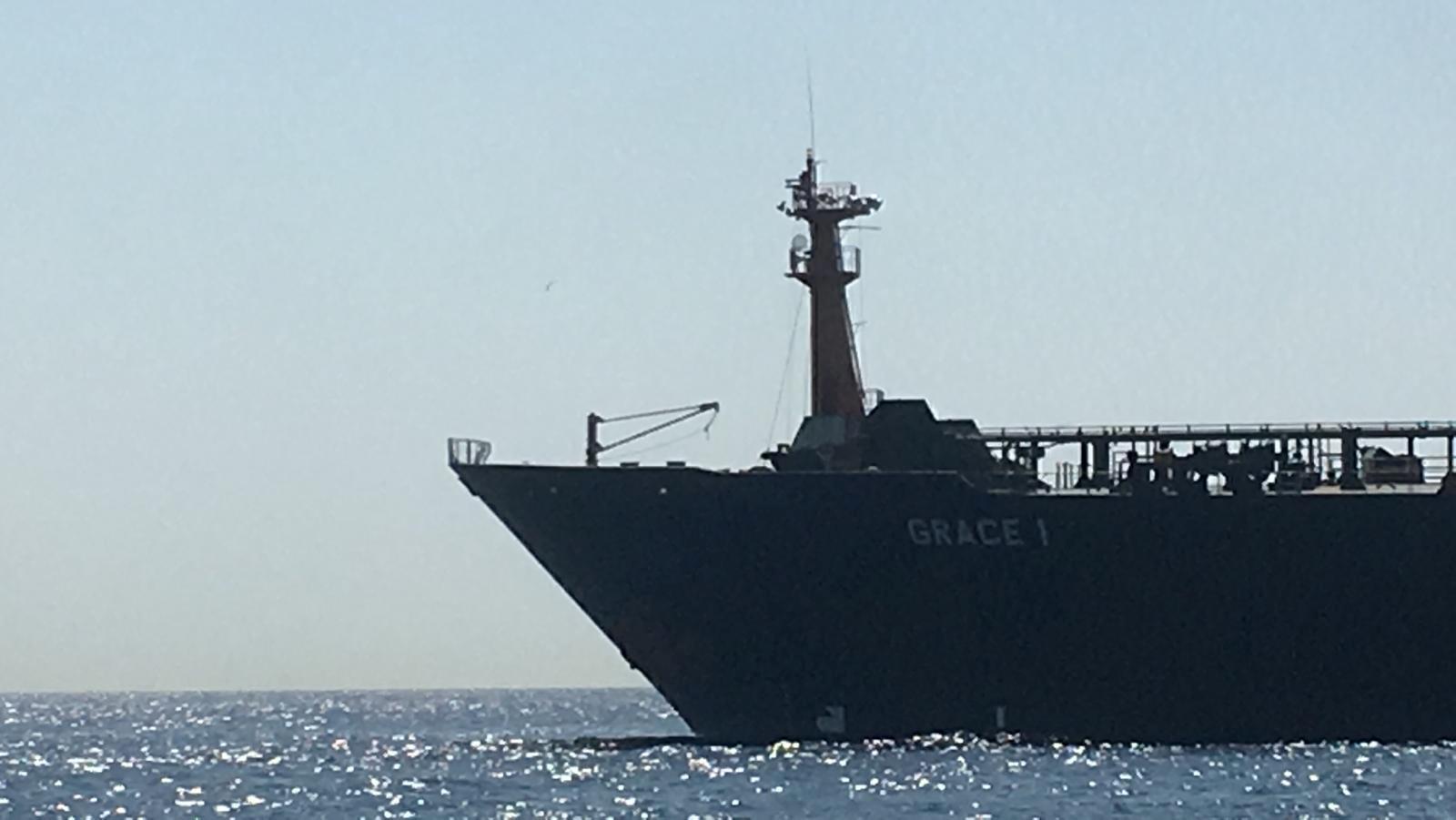 La Grande-Bretagne s'empare du pétrolier iranien suite aux sanctions imposées par la Syrie