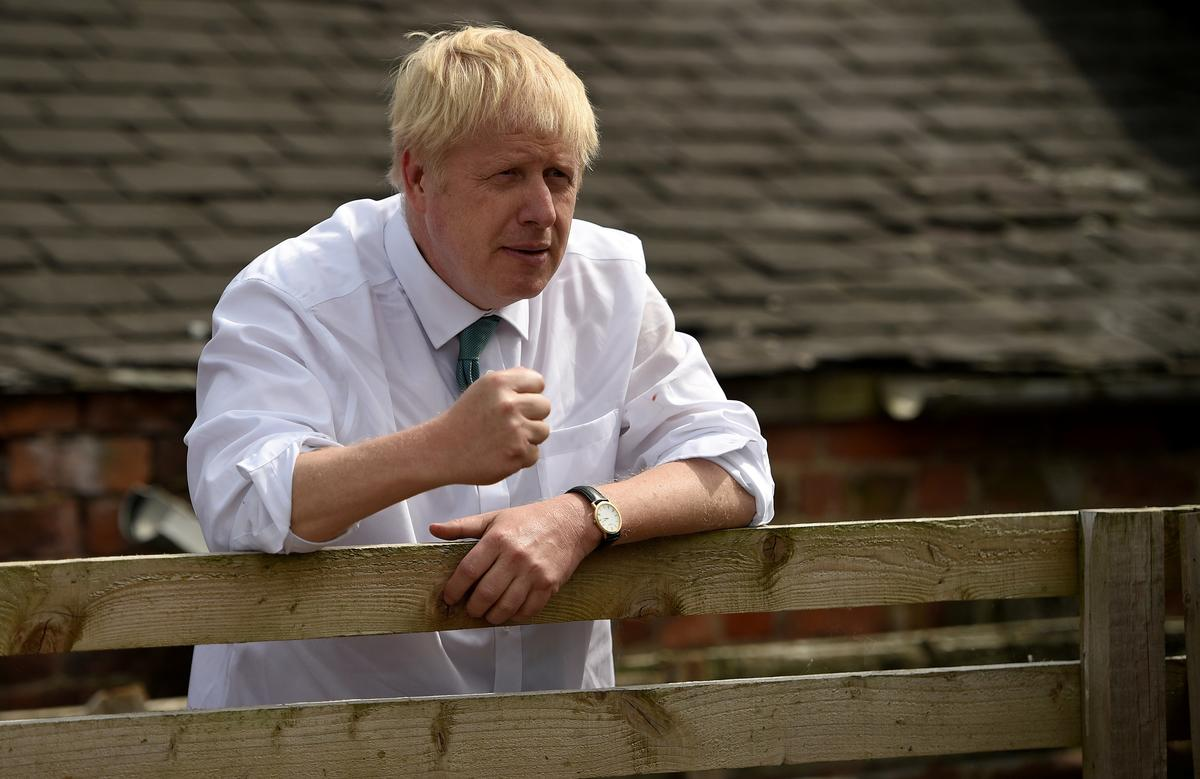 UK PM Candidate Johnson Urges Tax on Global Tech Giants