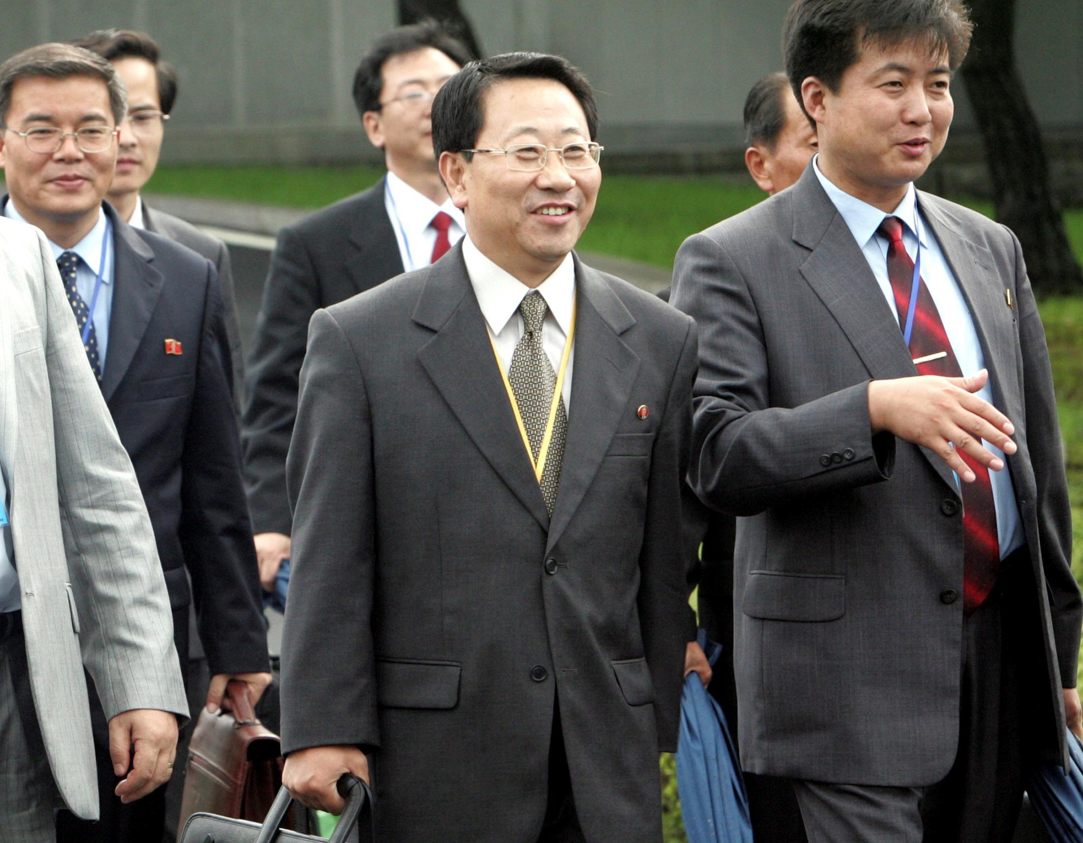 Former ambassador may be North Korea's new point man in U.S. talks:...