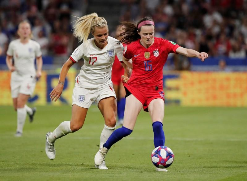 Midfielder Lavelle says she'll play in Women's World Cup final
