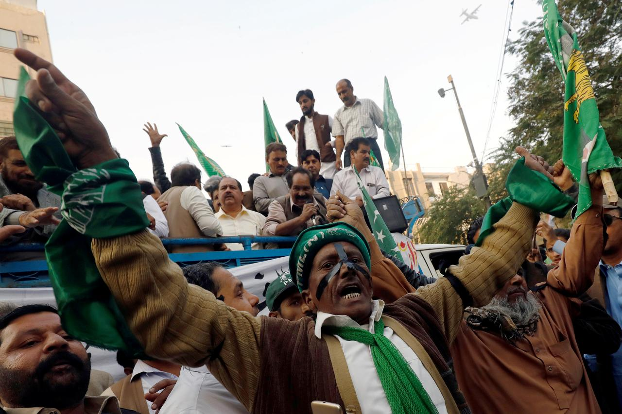 Pakistani judge rejects opposition blackmail claims over ex