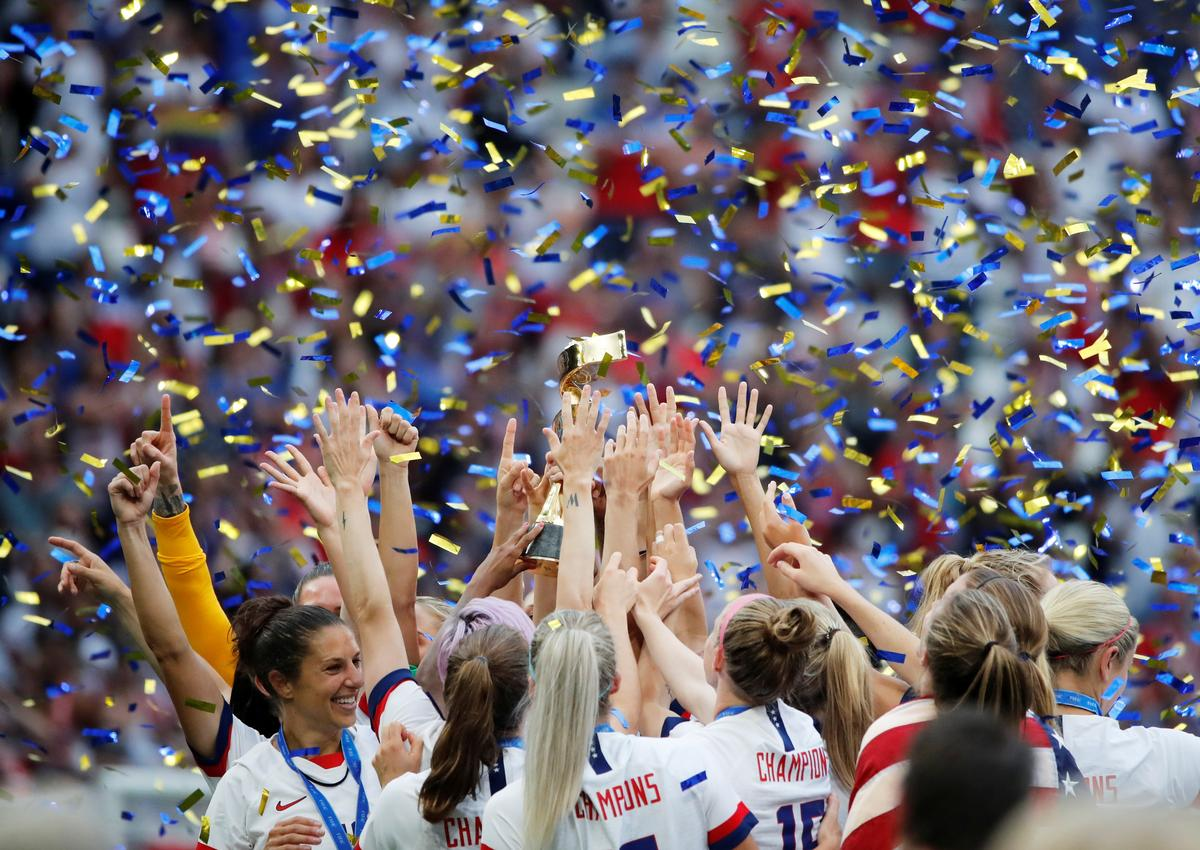 Reactions to the U.S. victory in the women's World Cup final