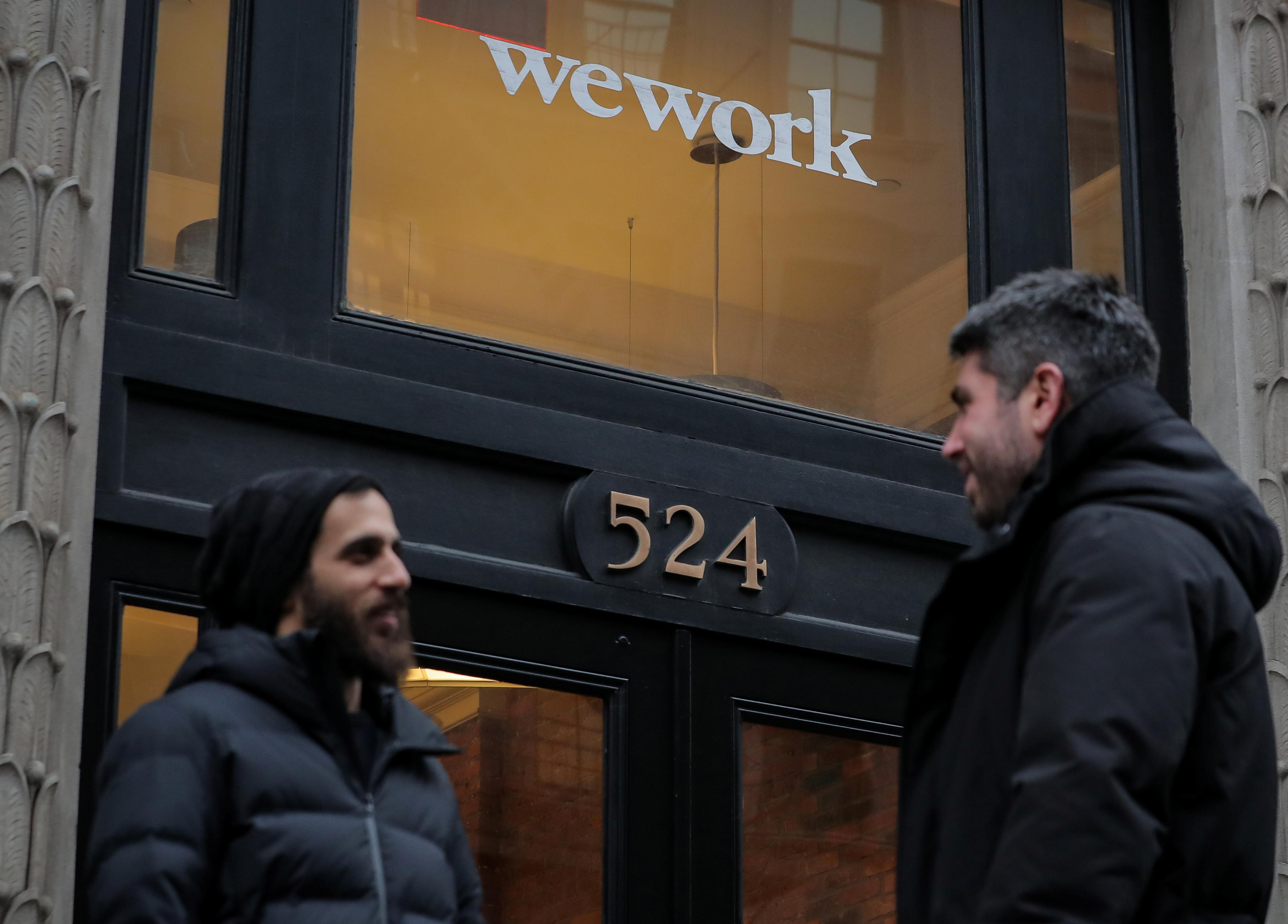 WeWork looking to raise up to $4 billion in debt ahead of