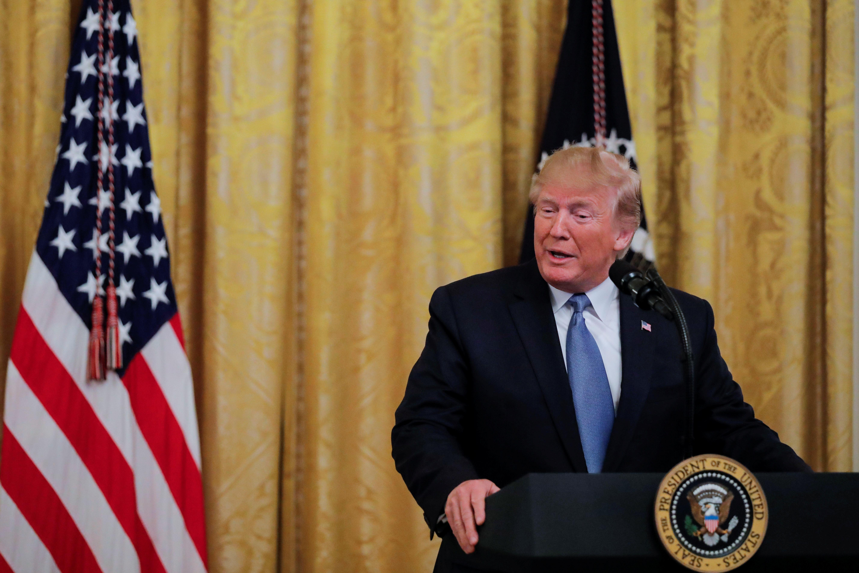 Trump touts environment record, green groups scoff