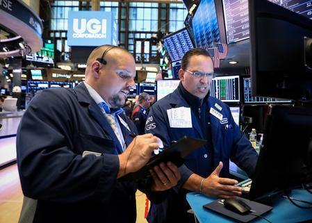 Wall St drifts lower as trade concerns weigh, big rate cut hopes fade