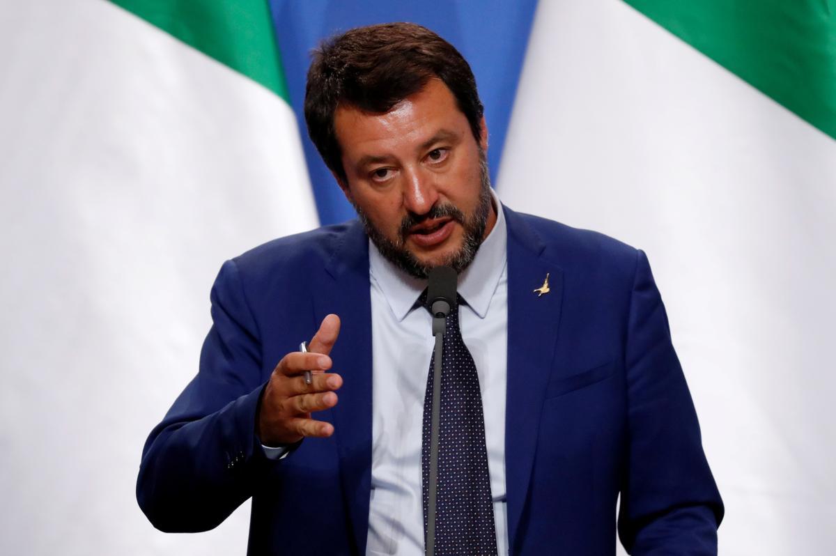 German NGO captain seeks to block Salvini's social media accounts