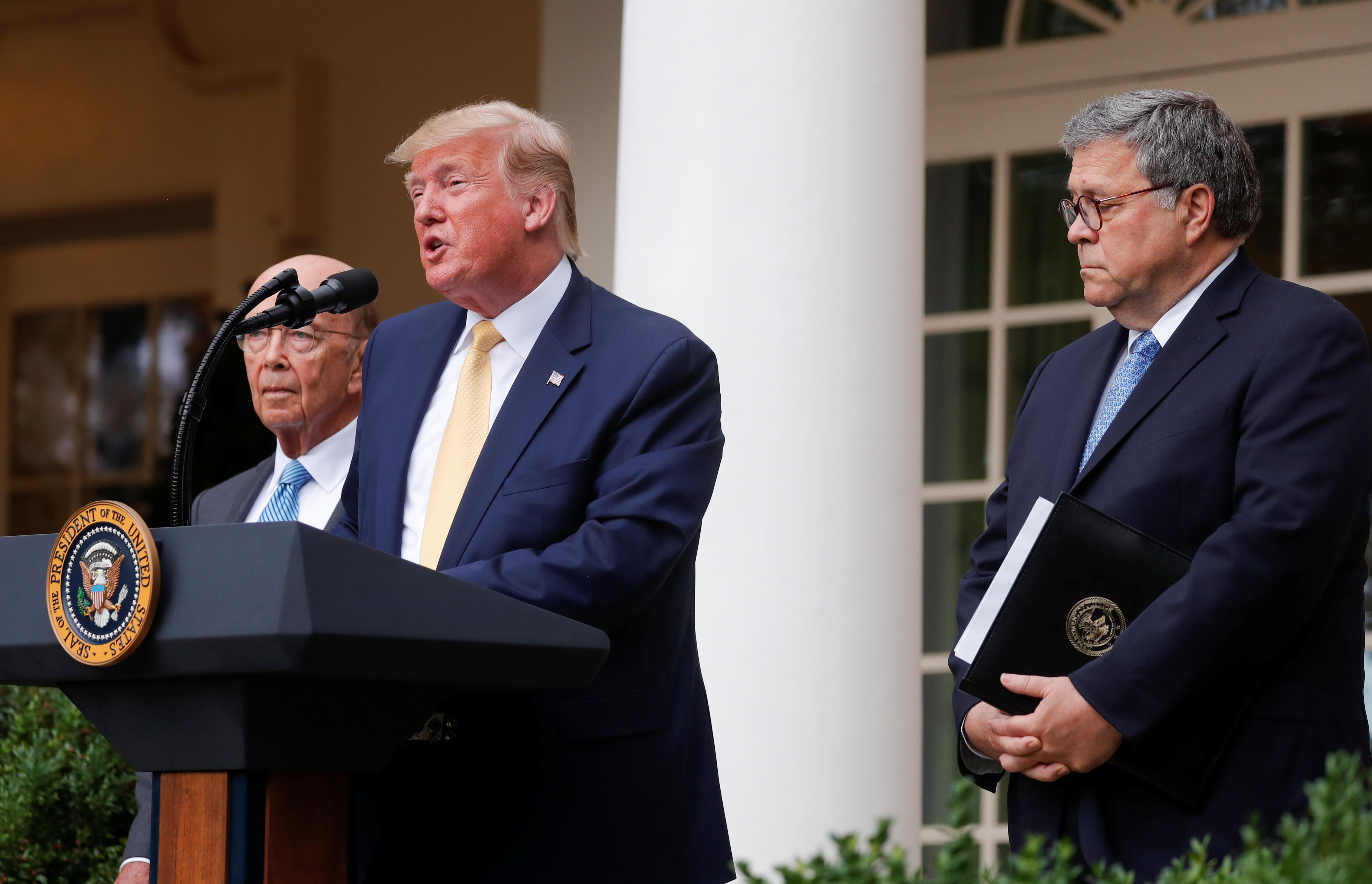 Trump drops census citizenship question, vows to get data from...