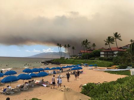 Hawaii's Maui Island wildfire forces evacuations