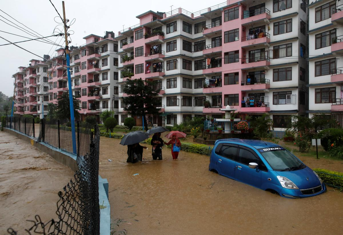 Floods and landslides kill 15 in Nepal, six others missing