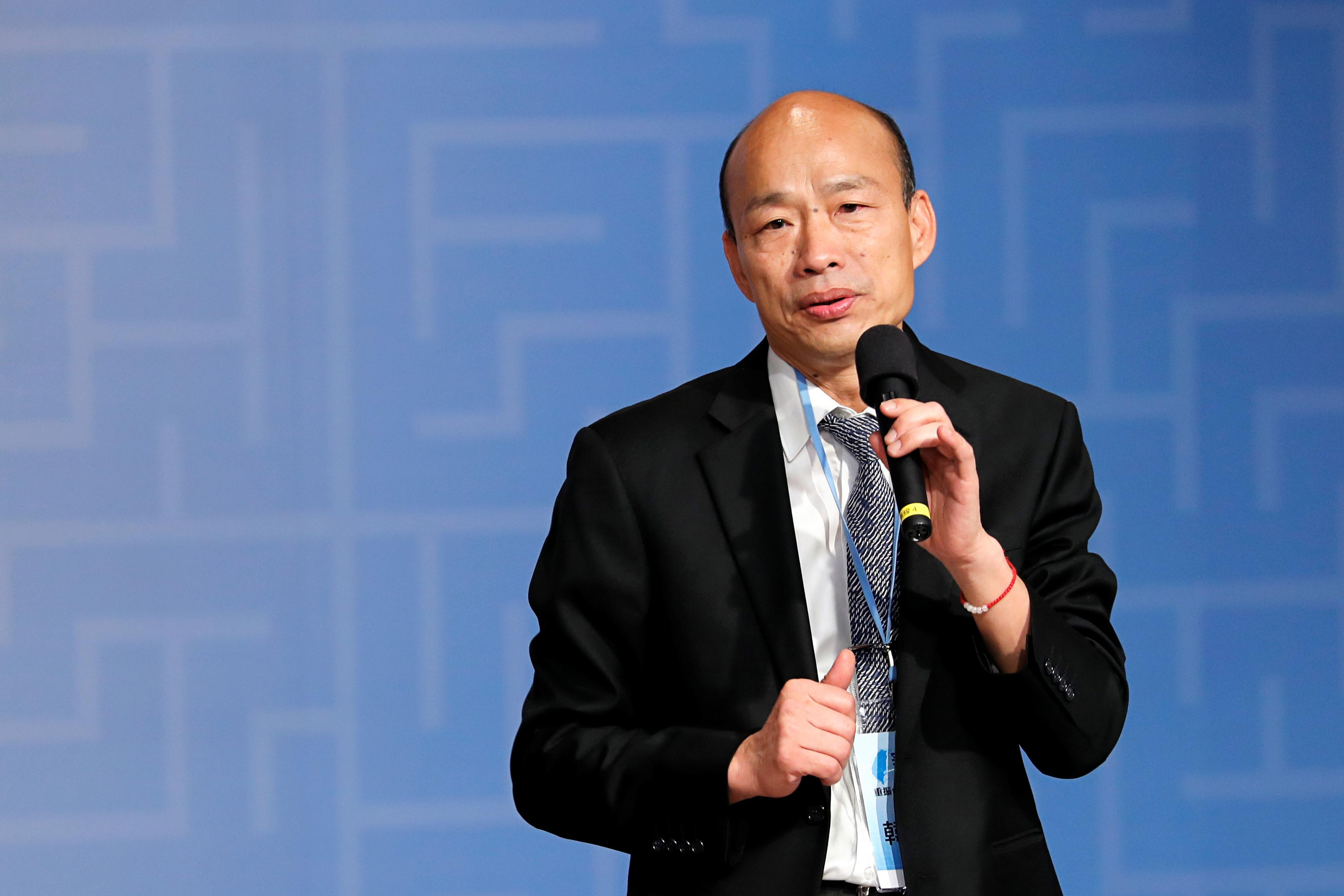 China-friendly Taiwan mayor beats Foxconn's Gou in opposition's presidential primary