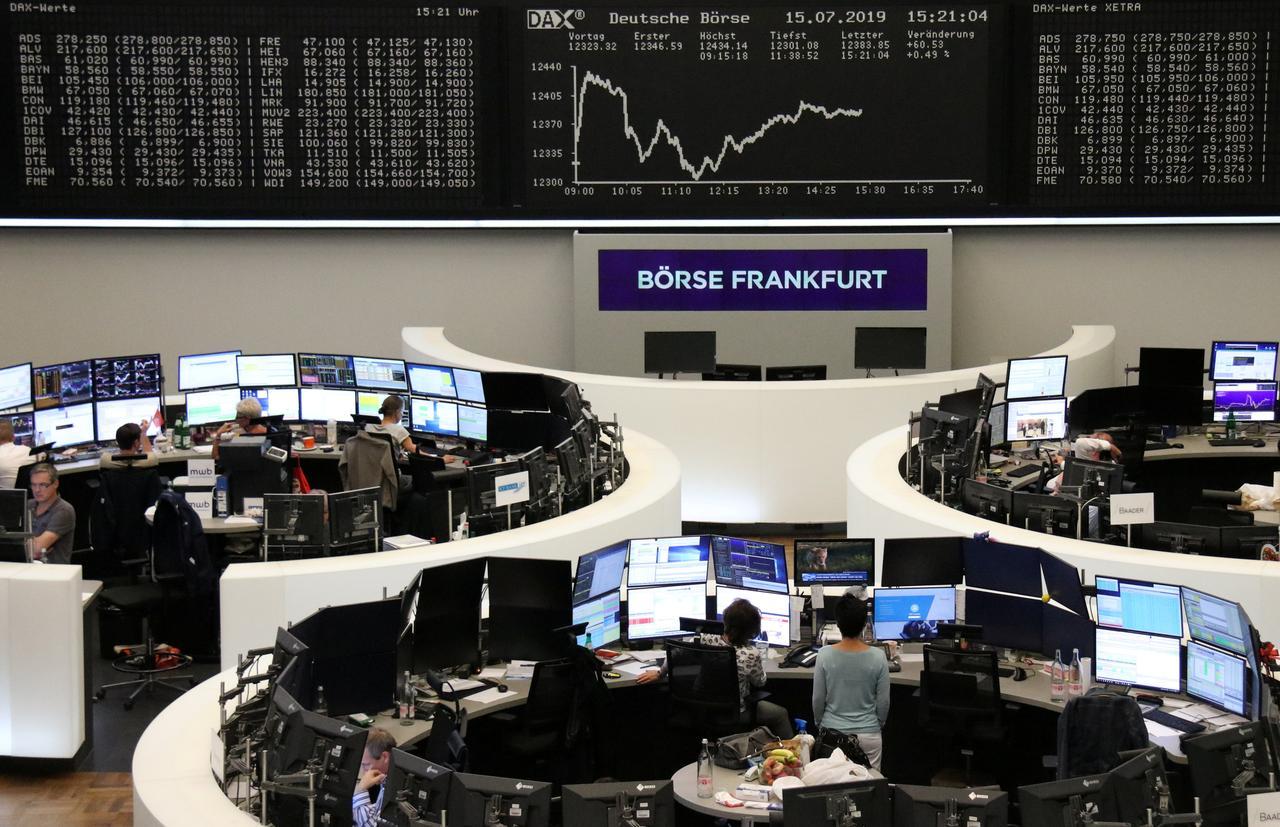 Bleak German mood weighs on Europe, Brexit pummels pound