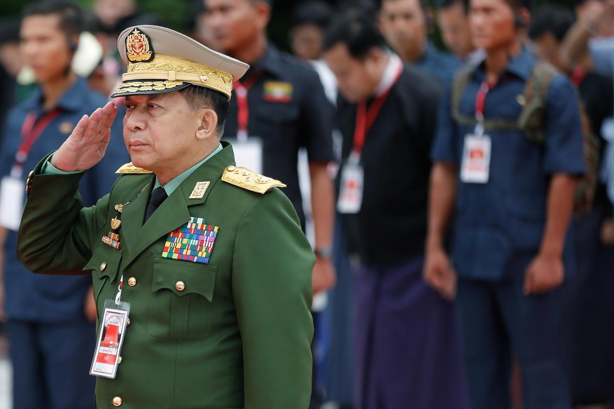 U.S. imposes sanctions on Myanmar military leaders over Rohingya abuses