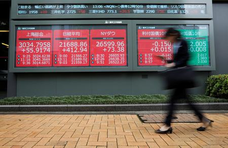 Asia shares subdued, dollar supported as sterling suffers