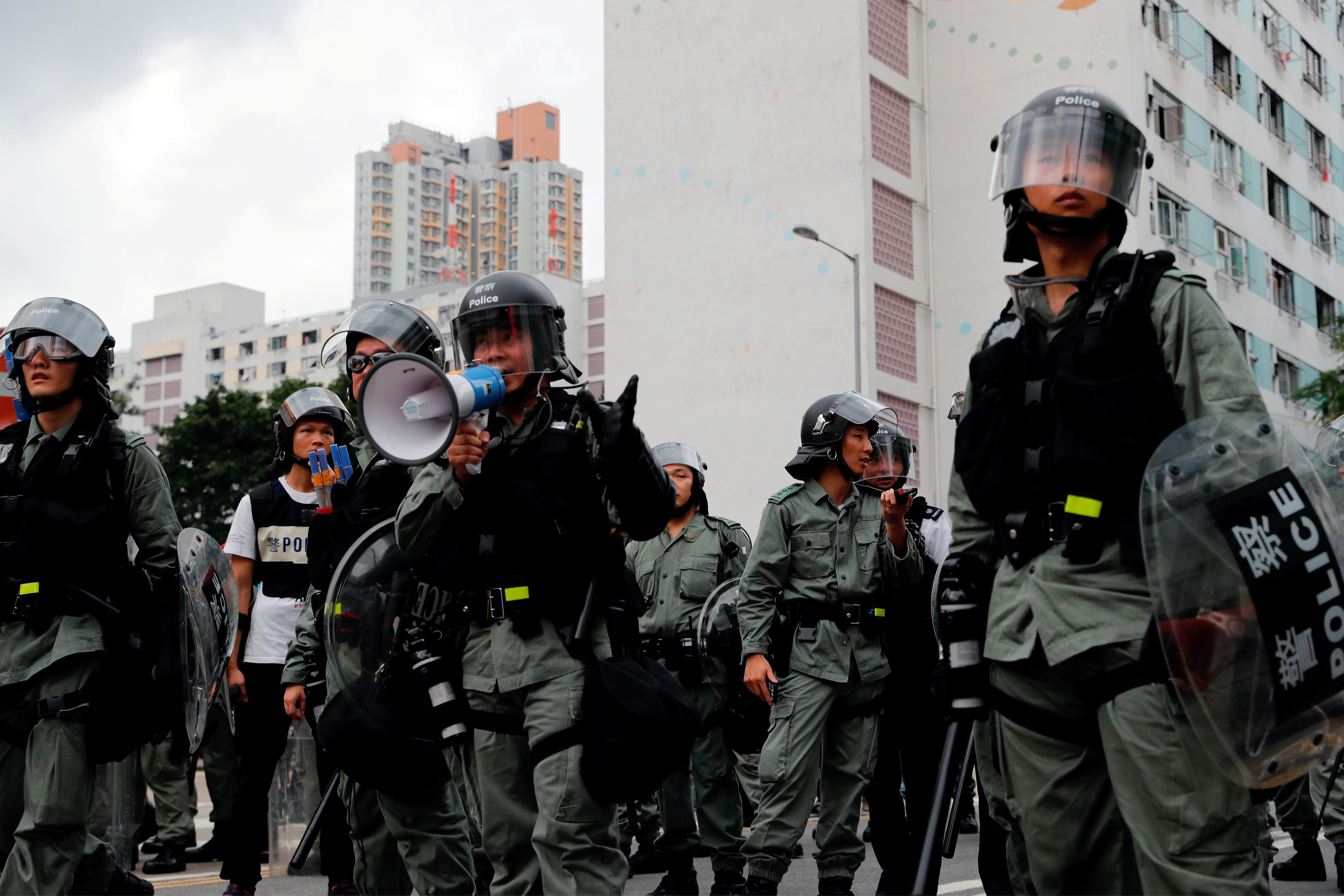 From 'Asia's finest' to 'black dogs': Hong Kong police under pressure