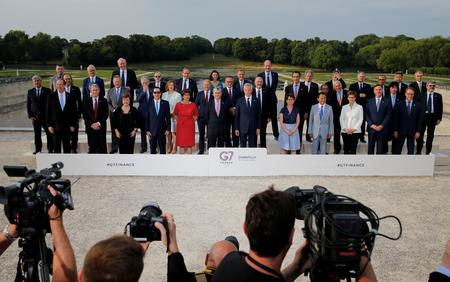 G7 urges tough Libra regulation, agrees to tax digital giants