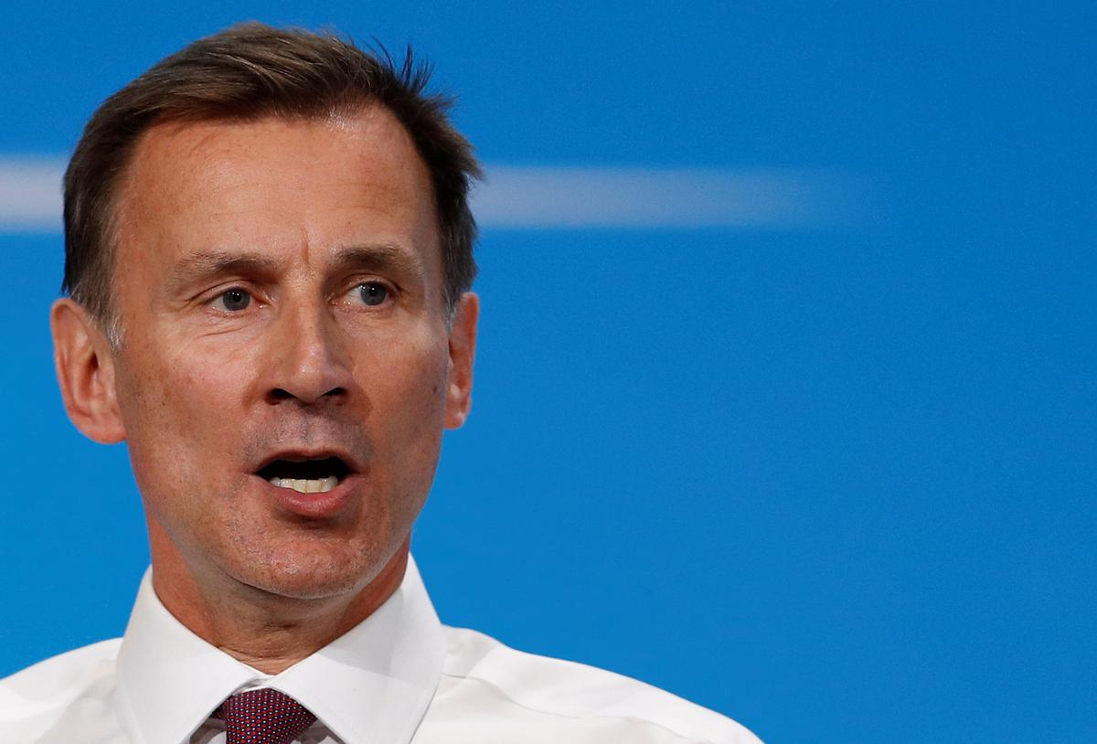 Britain will be considered but robust toward Iran: Hunt