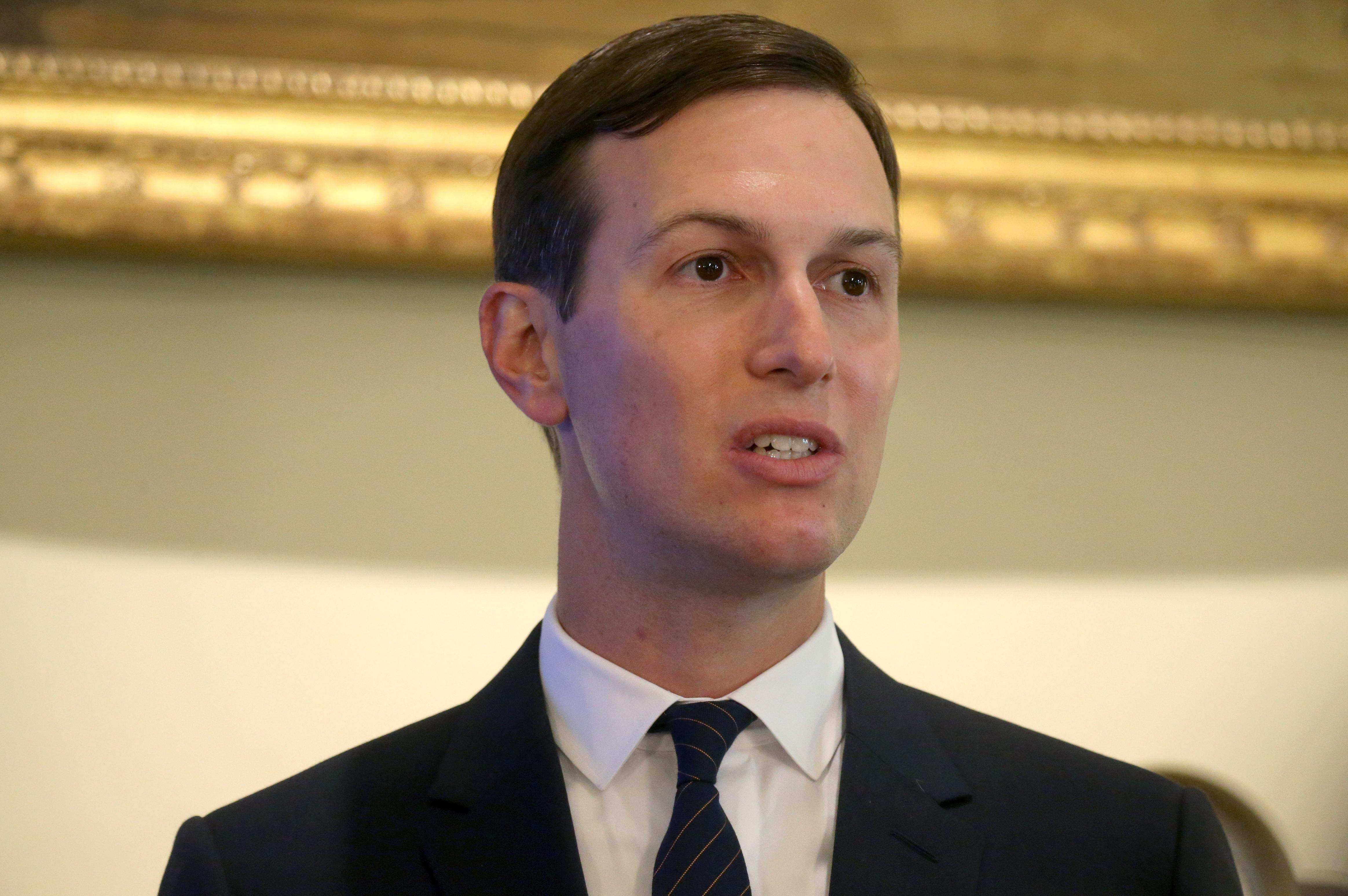 White House's Kushner to finalize Palestinian economic plan on Middle East tour - official