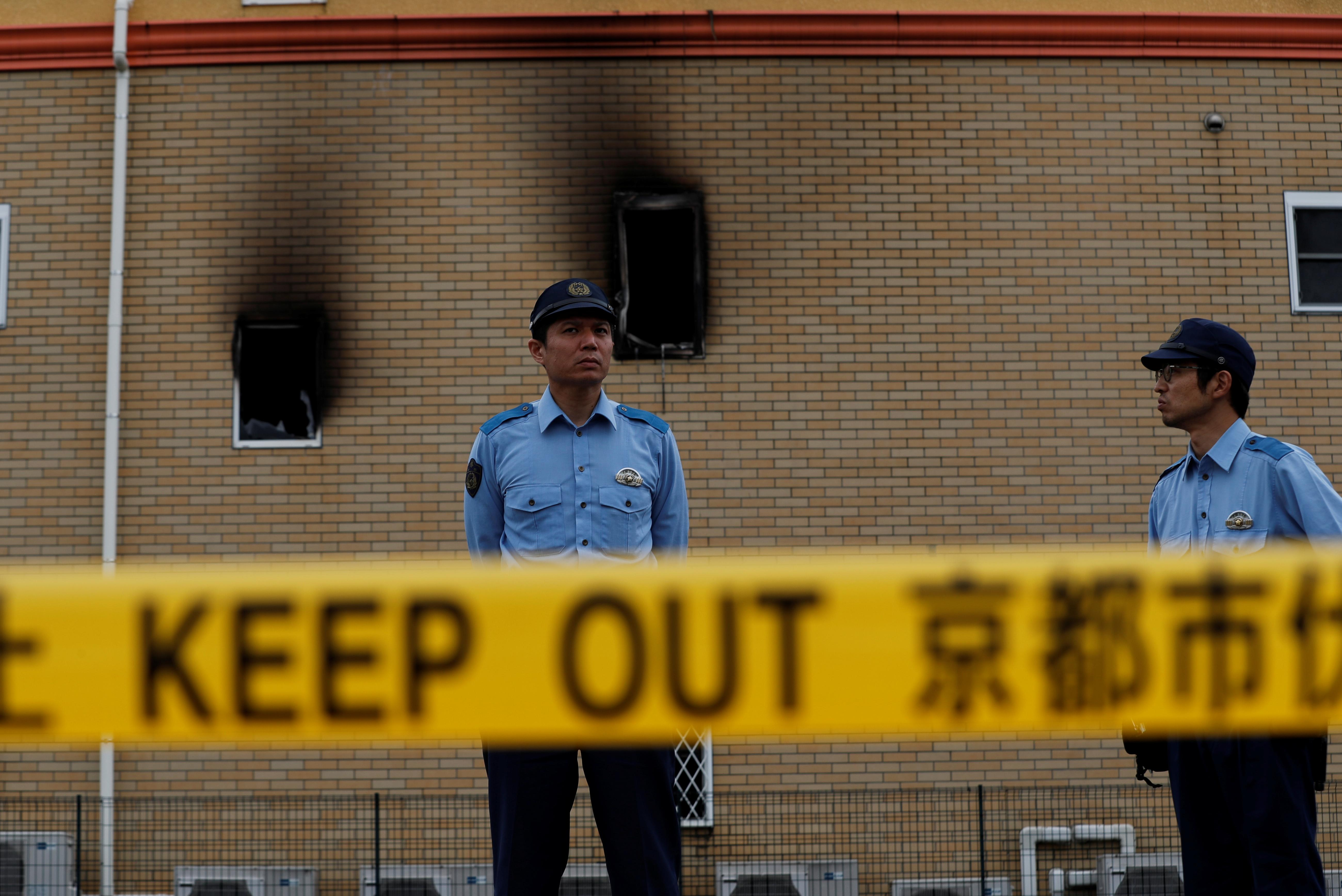 Japan officials hunt for reasons behind fire that killed 34