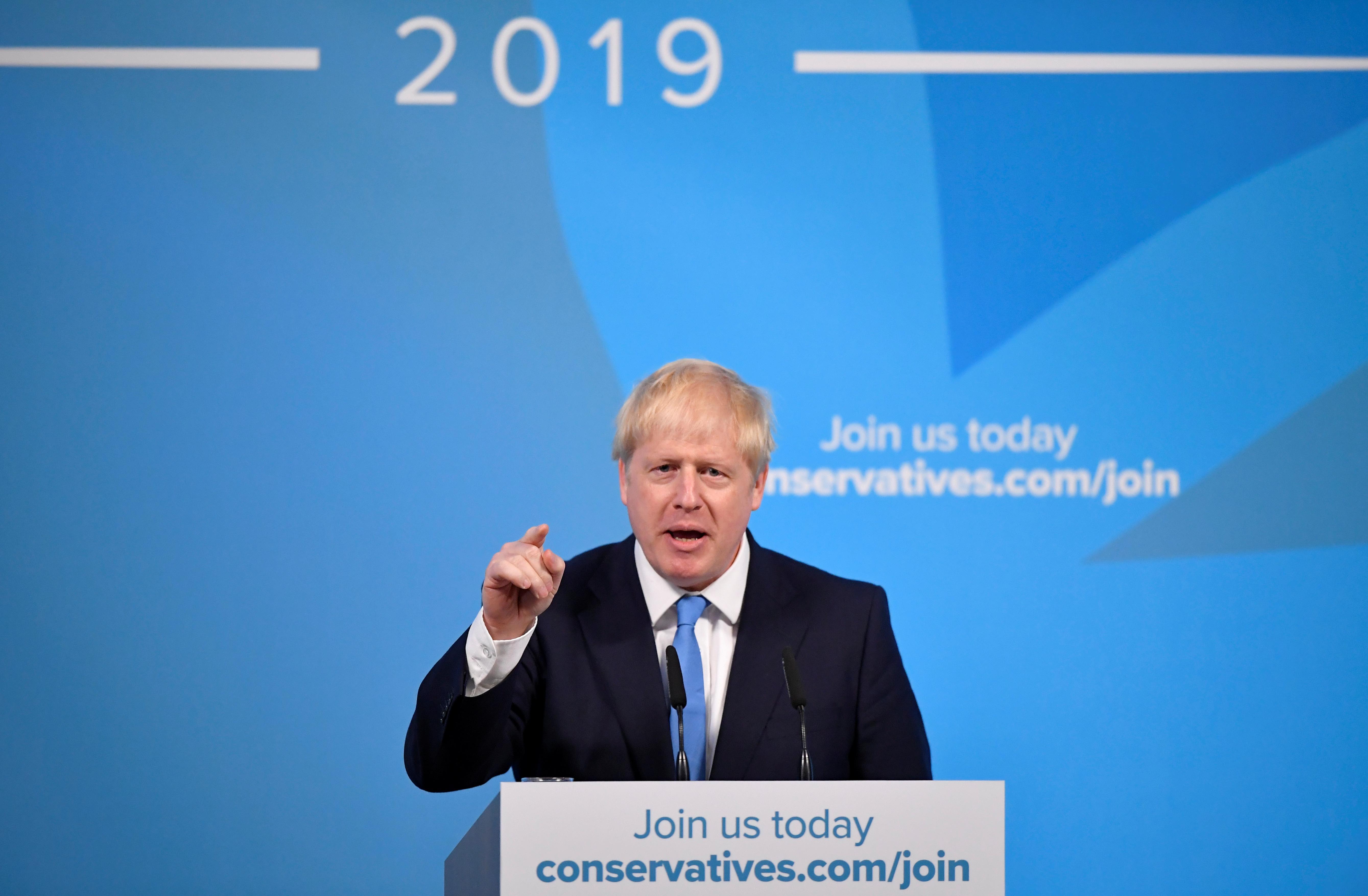 """Le nouveau leader britannique, Johnson, a déclaré: """"Nous allons faire en sorte que le Brexit soit terminé"""""""