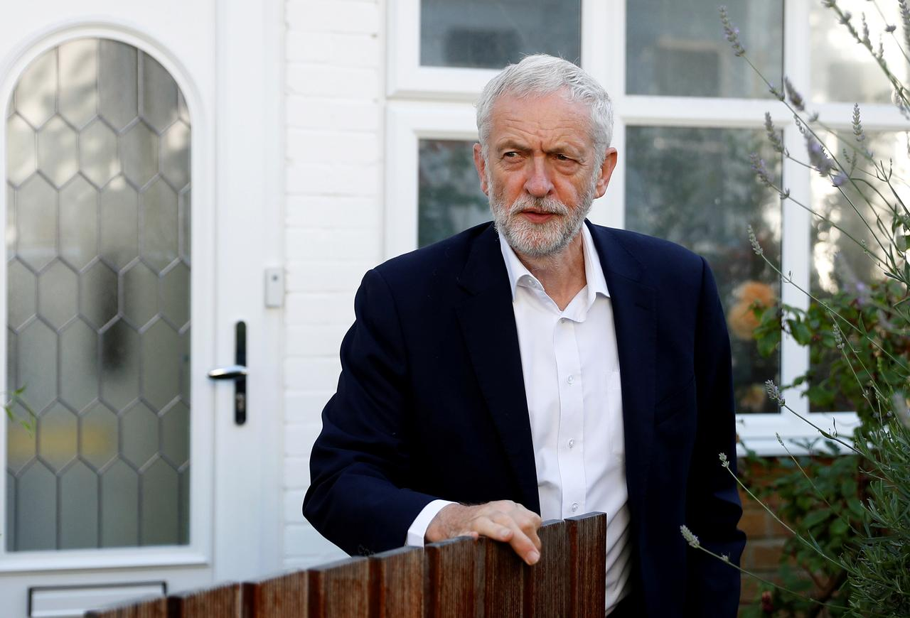 Image result for Opposition leader Corbyn - We will oppose Brexit if PM Johnson's deal fall short