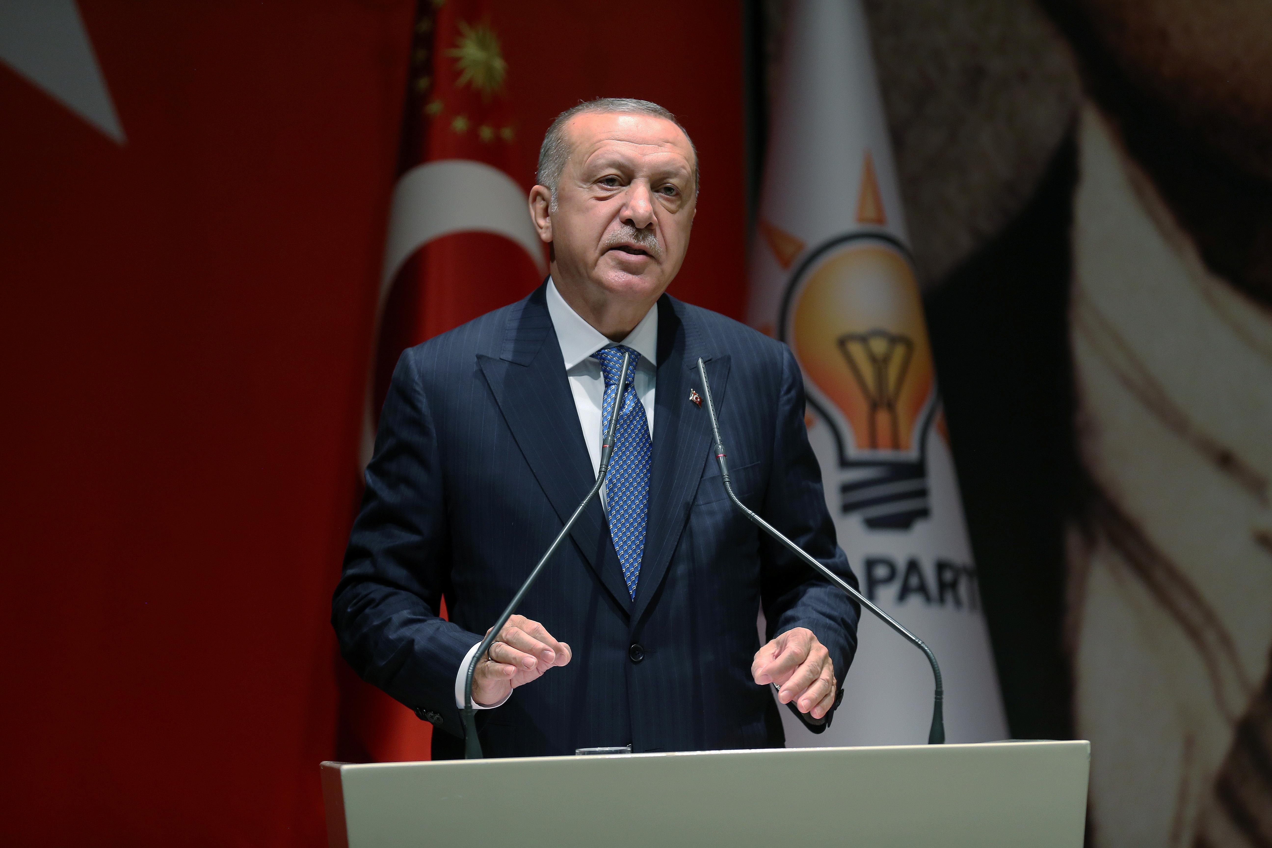 Erdogan says Turkey will destroy militants in north Syria regardless of U.S. talks
