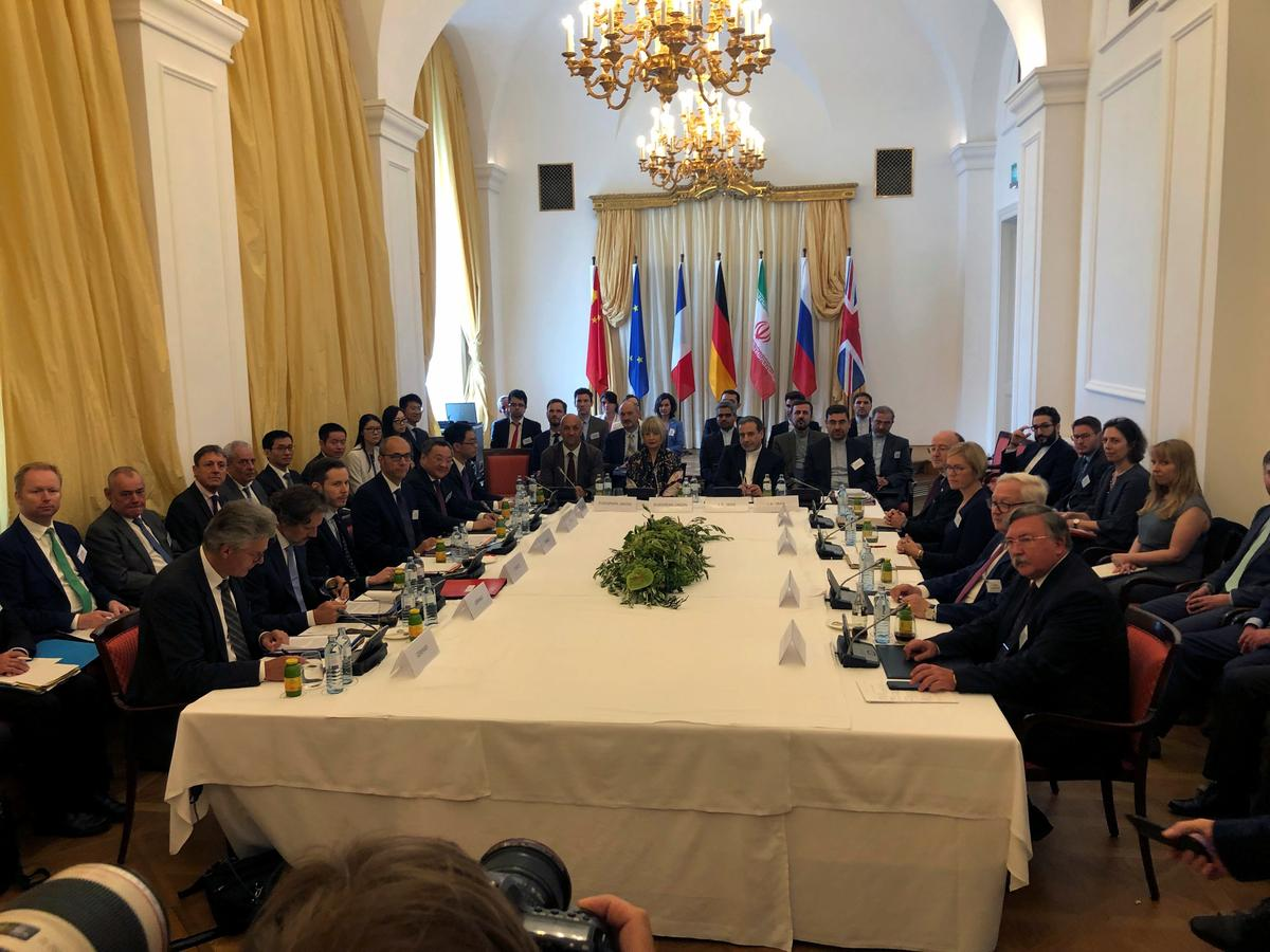 Image result for Iran says meeting with parties to nuclear deal 'constructive'